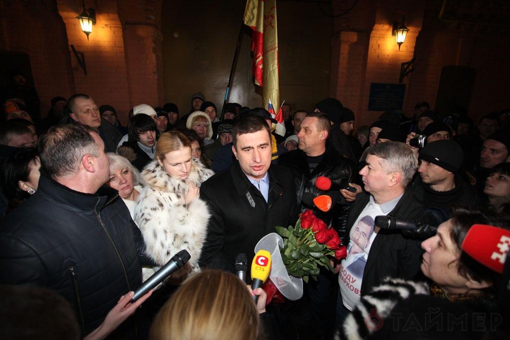 Игорь Марков вышел на свободу