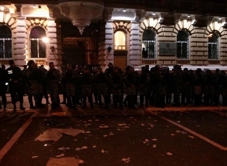 Разгон митинга сторонников Игоря Маркова